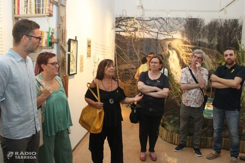 Tàrrega rememora en una exposició i una ruta literària els seus vincles amb la vida i l'obra de Manuel de Pedrolo