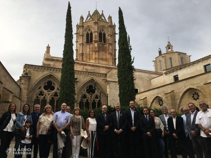 L'Urgell celebra la Diada i el dia de la Comarca a Vallbona de les Monges