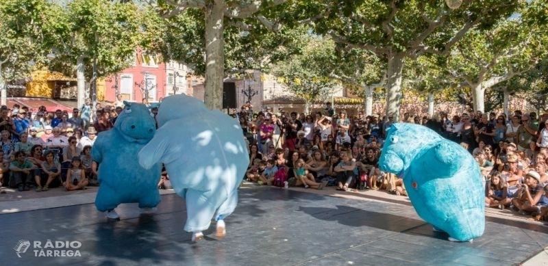 L'espectacle 'Hippos' de Zum Zum Teatre i Quim Bigas guanya el Premi Moritz FiraTàrrega 2018 a la millor estrena d'arts de carrer