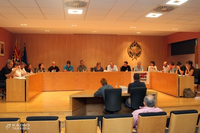 El Ple de Tàrrega aprova les contribucions especials per reformar la plaça Major, obra que s'iniciarà durant la segona setmana d'octubre