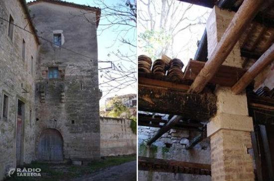 L'INCASÒL inicia la restauració del Molí Vell de Bellpuig, a l'Urgell