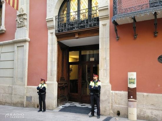 Retingut el president de la Diputació de Lleida en una operació relacionada amb el pagament de comissions a CDC