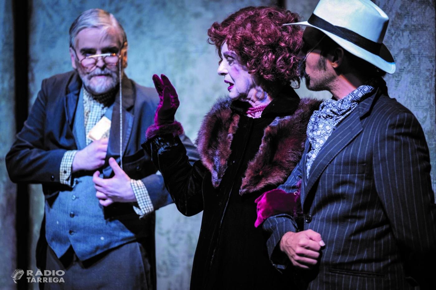 """Tàrrega aixeca el teló de la nova Temporada de Teatre el diumenge 7 d'octubre amb """"La visita de la vella dama"""", protagonitzada per Vicky Peña"""