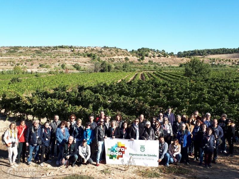 La Diputació de Lleida i a DO Costers del Segre han organitzat una trobada d'Instragramers a Nalec i Verdú