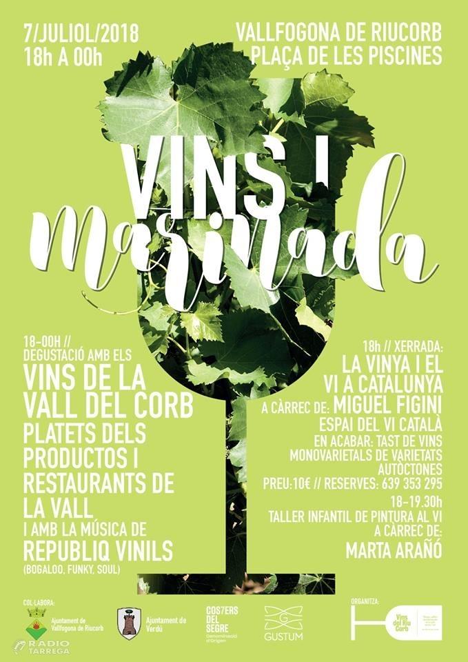 Vins del Corb celebra la 4ª edició del Vins i Marinada dedicada a les varietats autòctones i els vins monovarietals