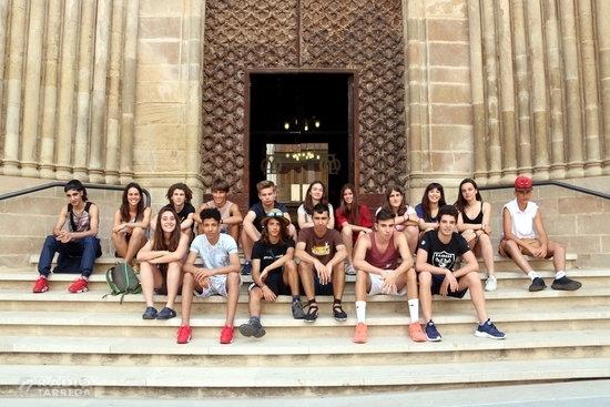 Quinze adolescents d'arreu de Catalunya participen al segon camp de treball d'estiu per a joves a Agramunt