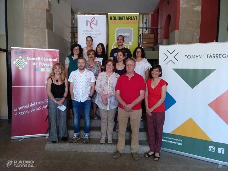 El comerç de Tàrrega, col•laborador del Voluntariat per la llengua