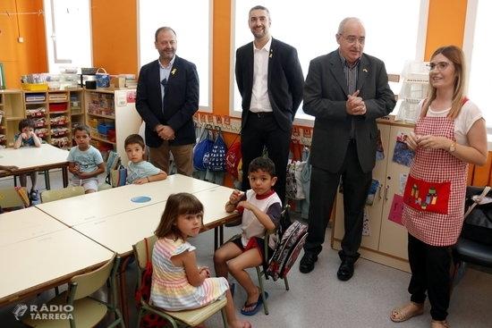 Ensenyament negociarà amb els ajuntaments la part que aportarà al finançament de les places de les escoles bressol