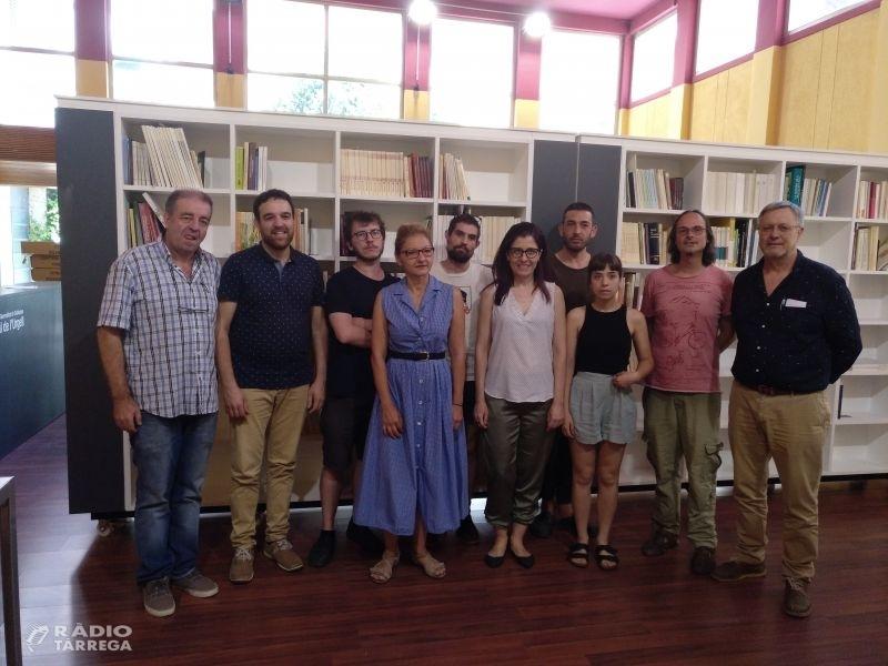 L'Arxiu Comarcal acull 4 projectes de creació amb residents de nacionalitat italiana, grega i catalana