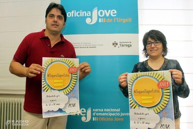 L'Ajuntament de Tàrrega obre la inscripció per als tallers de l'Estiu Jove amb una setzena de propostes lúdiques i formatives