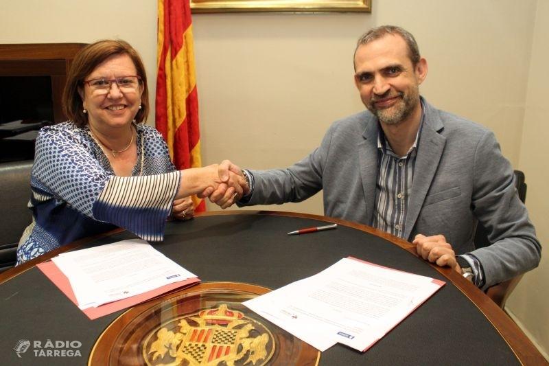 L'Ajuntament de Tàrrega i Sorea renoven l'acord per garantir el subministrament d'aigua de boca a persones amb pocs recursos