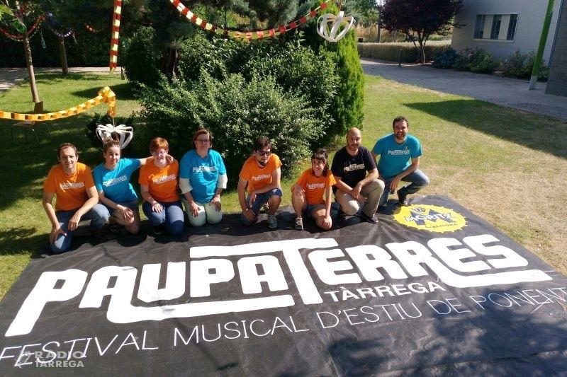 El 21è Festival Paupaterres de Tàrrega creix fins a una vintena de concerts del 12 al 14 de juliol, amb Buhos, Gossos, Luar Na Lubre, Sense Sal, Pupil