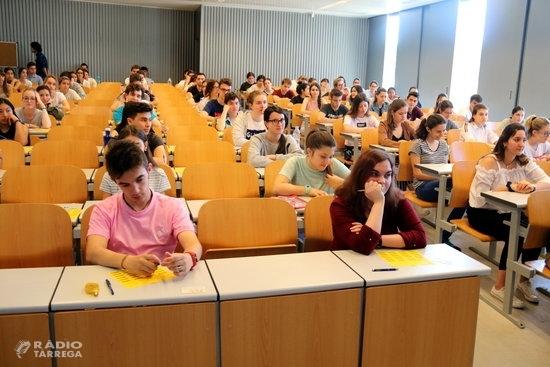 102 alumnes de Tàrrega s'examinen a partir d'avui a la Selectivitat