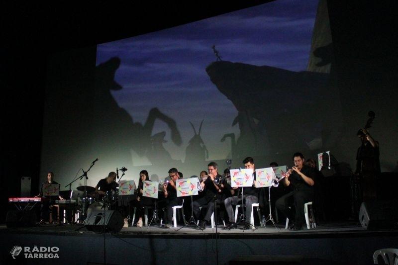 Èxit del concert de la Cobla Tàrrega en què adapta bandes sonores de cinema als instruments de la sardana