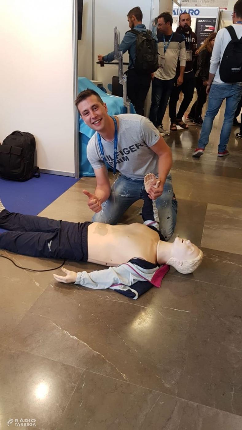 El targarí Albert Gual es proclama campió d'Espanya de Reanimació Cardiopulmonar