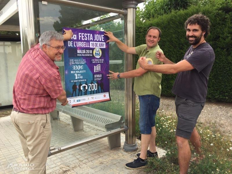 4ª Festa Jove de l'Urgell a Maldà el dia 16 de juny