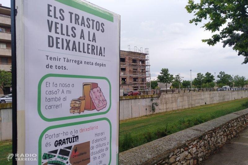 L'Ajuntament de Tàrrega inicia una campanya de sensibilització per no deixar voluminosos al carrer