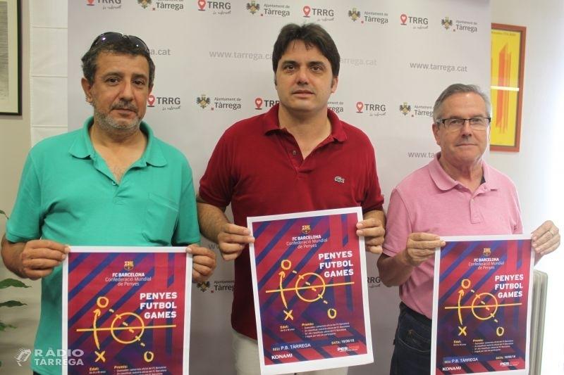Tàrrega celebrarà el dissabte 16 de juny el primer torneig a les terres de Lleida dels Futbol Games de penyes del FC Barcelona