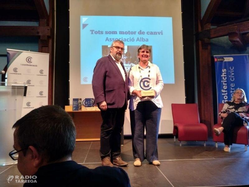 La 2a edició dels Premis La Confederació 2018 premia l'Associació Alba de Tàrrega per la seva gestió i governança democràtica