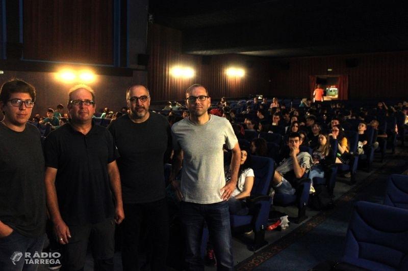 Tàrrega obre el Galacticat 2018 amb una masterclass de l'ESCAC adreçada a escolars sobre la producció cinematogràfic