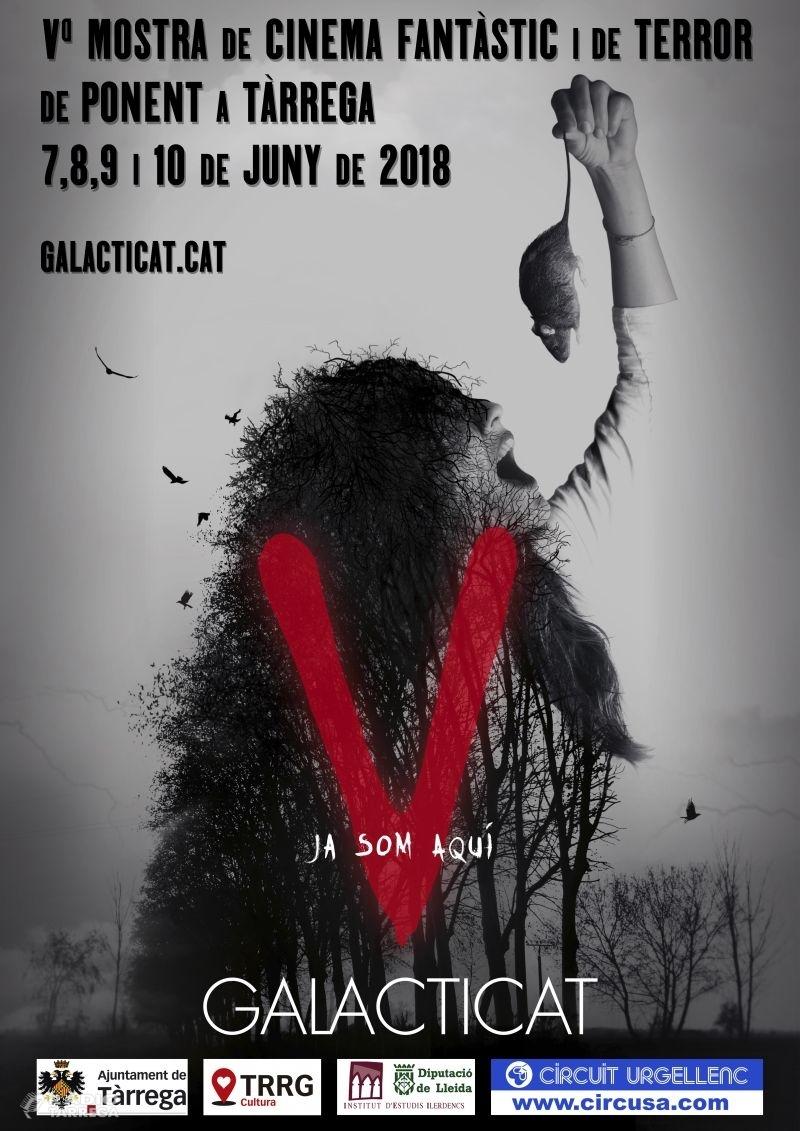 Tàrrega celebra del 7 al 10 de juny la cinquena edició del Galacticat – Mostra de Cinema Fantàstic i de Terror