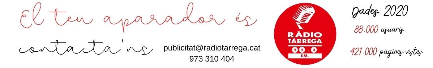 Ràdio Tàrrega el teu aparador fix