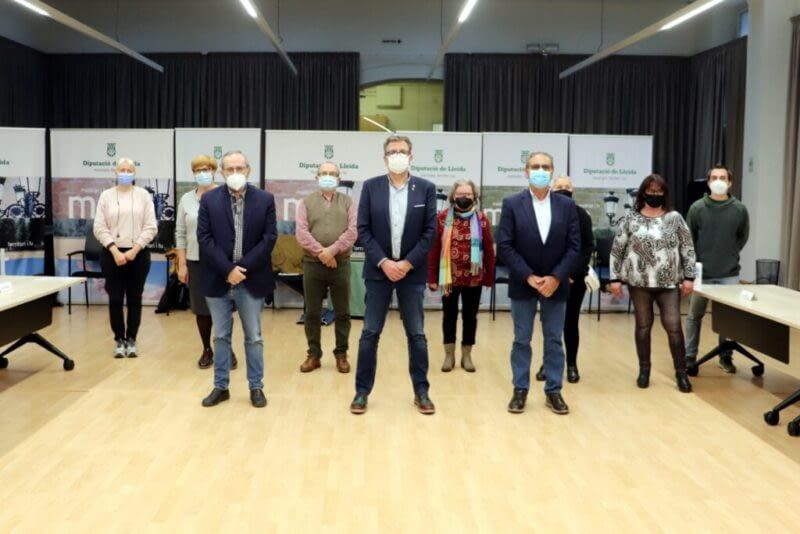 La Diputació de Lleida i la Coordinadora d'entitats de salut mental signen un conveni de col·laboració per al 2021
