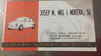 Gràcies JOSEP M. MAS i MORERA!!!