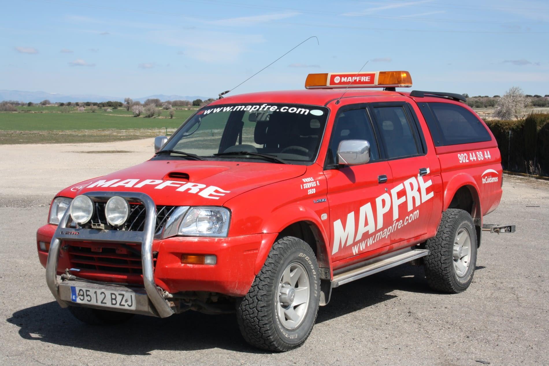 Cotxe assistencia mitsubishi mapfre