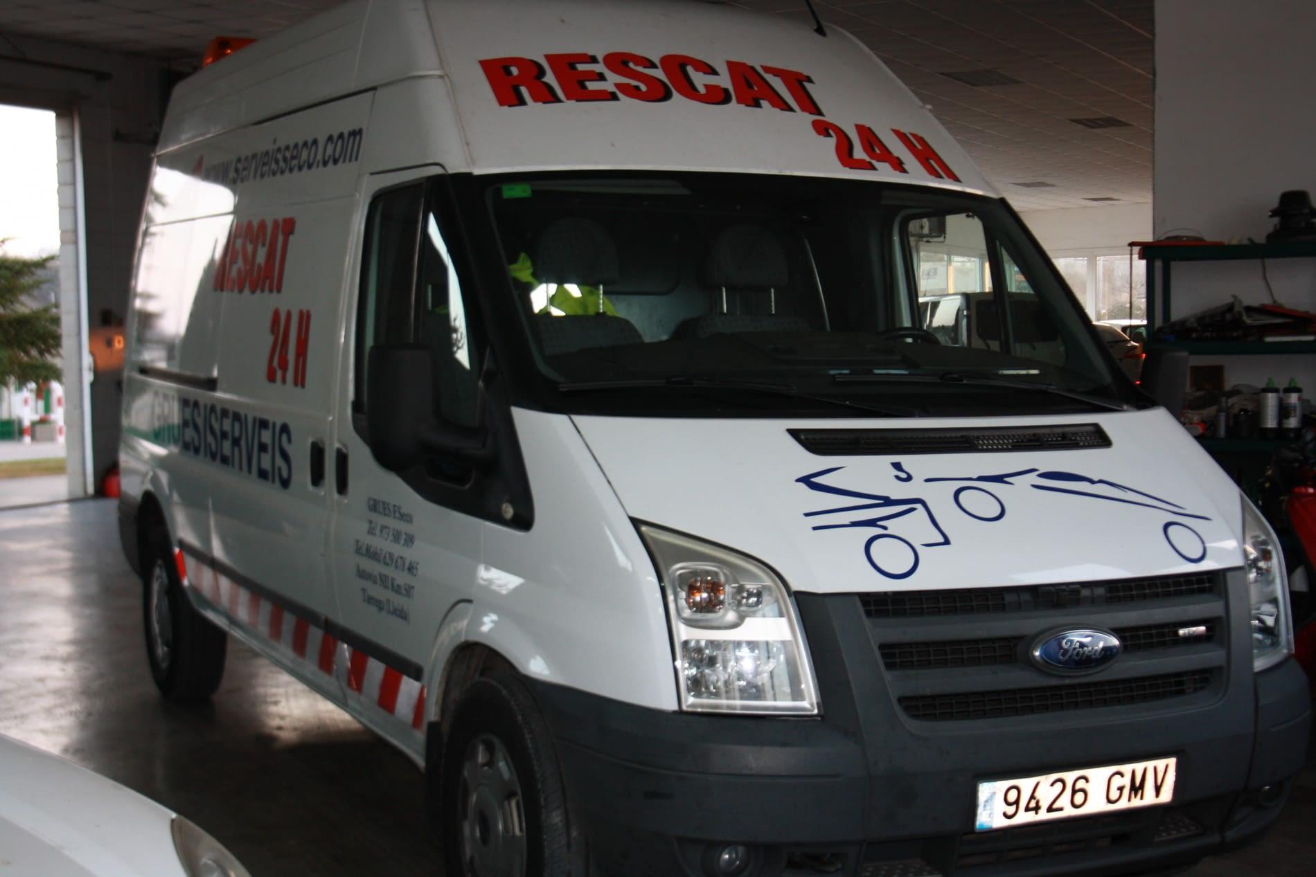 furgoneta assistencia FORD