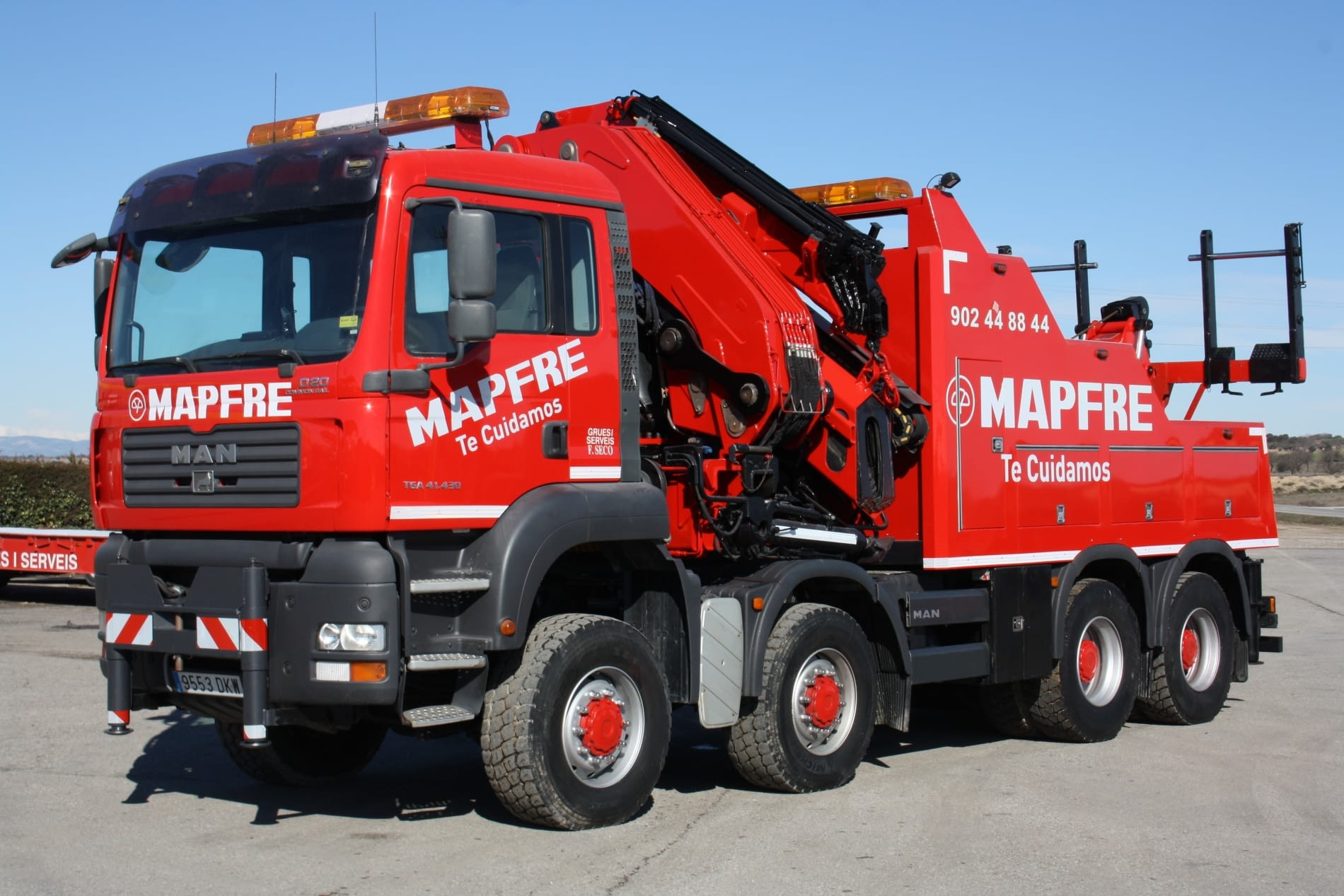 Camion MAN mapfre