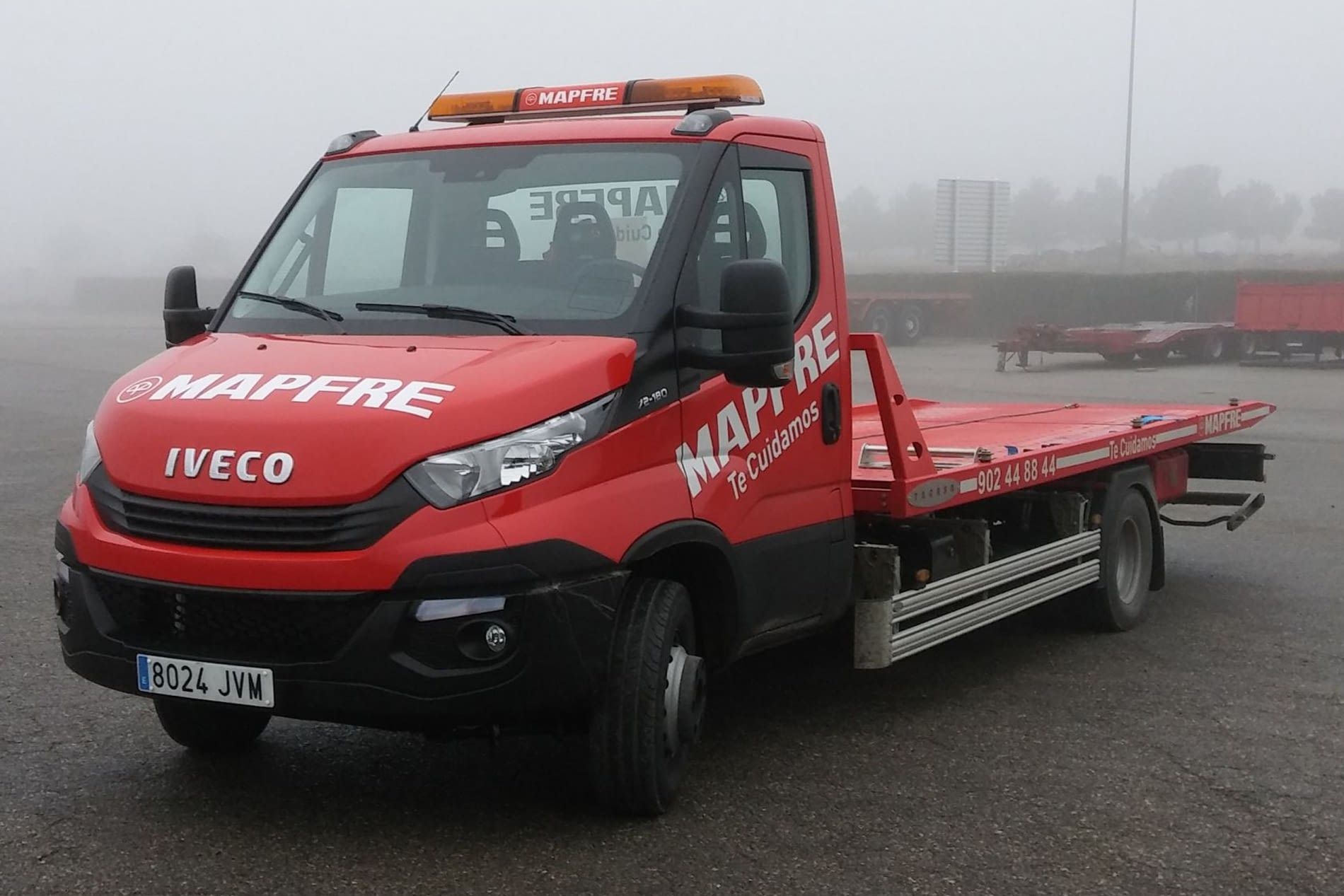 Camionet IVECO mapfre