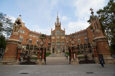 Hospital de la Santa Creu i Sant Pau - Conjunt Monumental