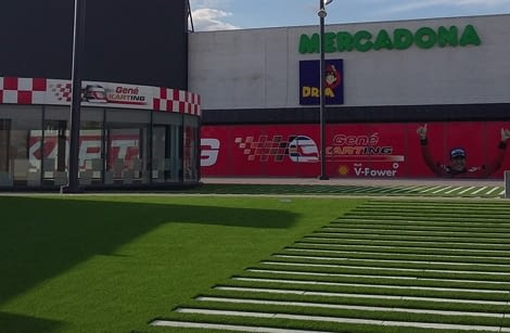 Urbanització accés centre comercial Vila Marina Viladecans