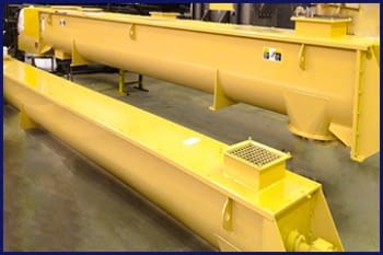WORM CONVEYOR (trough shape)
