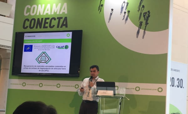 Presentación del proyecto en CONAMA