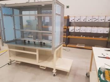 ¡Empezamos a montar una nueva máquina para una empresa del sector de la automoción!