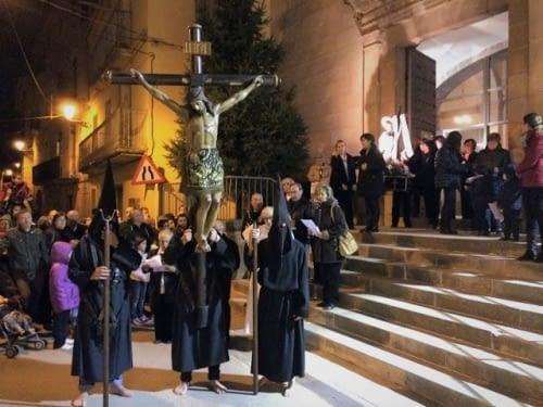 Processó del Sant Crist al Talladell