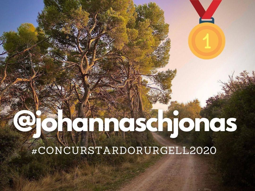 Foto guanyadora del Concurs  d'Instagram de tardor de l'Urgell