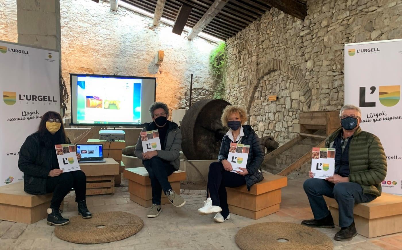 Nou catàleg de cellers, molins i allotjaments de l'Urgell
