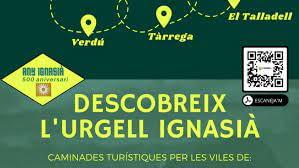 Caminada nocturna  del Camí Ignasià a l'Urgell,  dissabte 31 de juliol