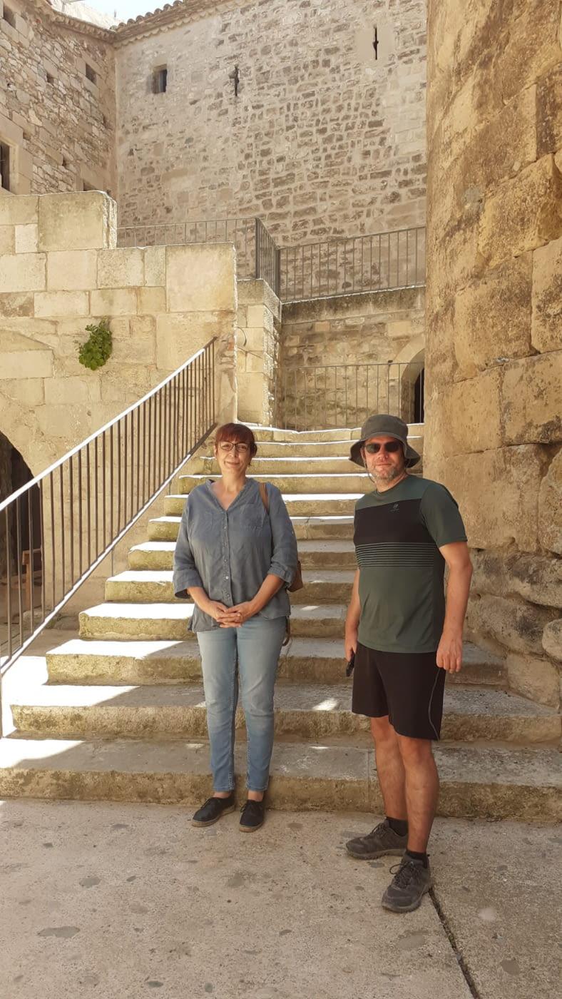Un periodista alemany interessat en el  Camí ignasià a l'Urgell