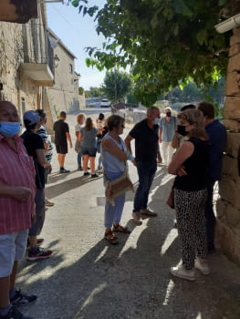 Bona participació a la visita sostenible de Montblanquet, del 18 de setembre