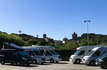 Presentació de L'Urgell, càmper tour , al Saló internacional Caravaning de Barcelona