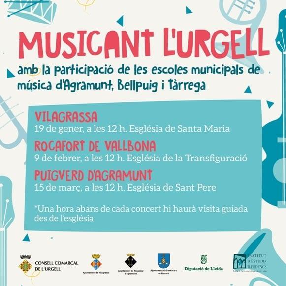CONCERTS, MUSICANT L'URGELL
