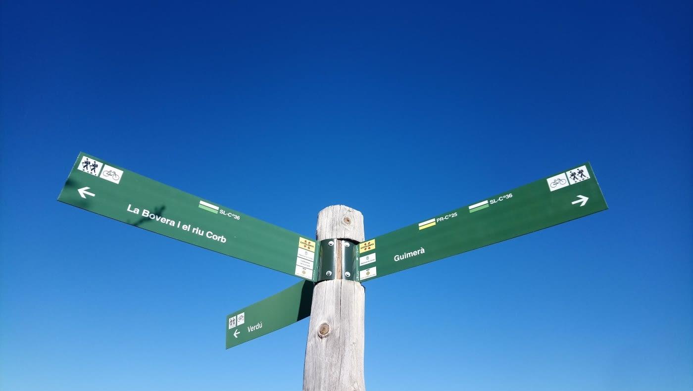 Manteniment de les rutes de senderisme de l'Urgell