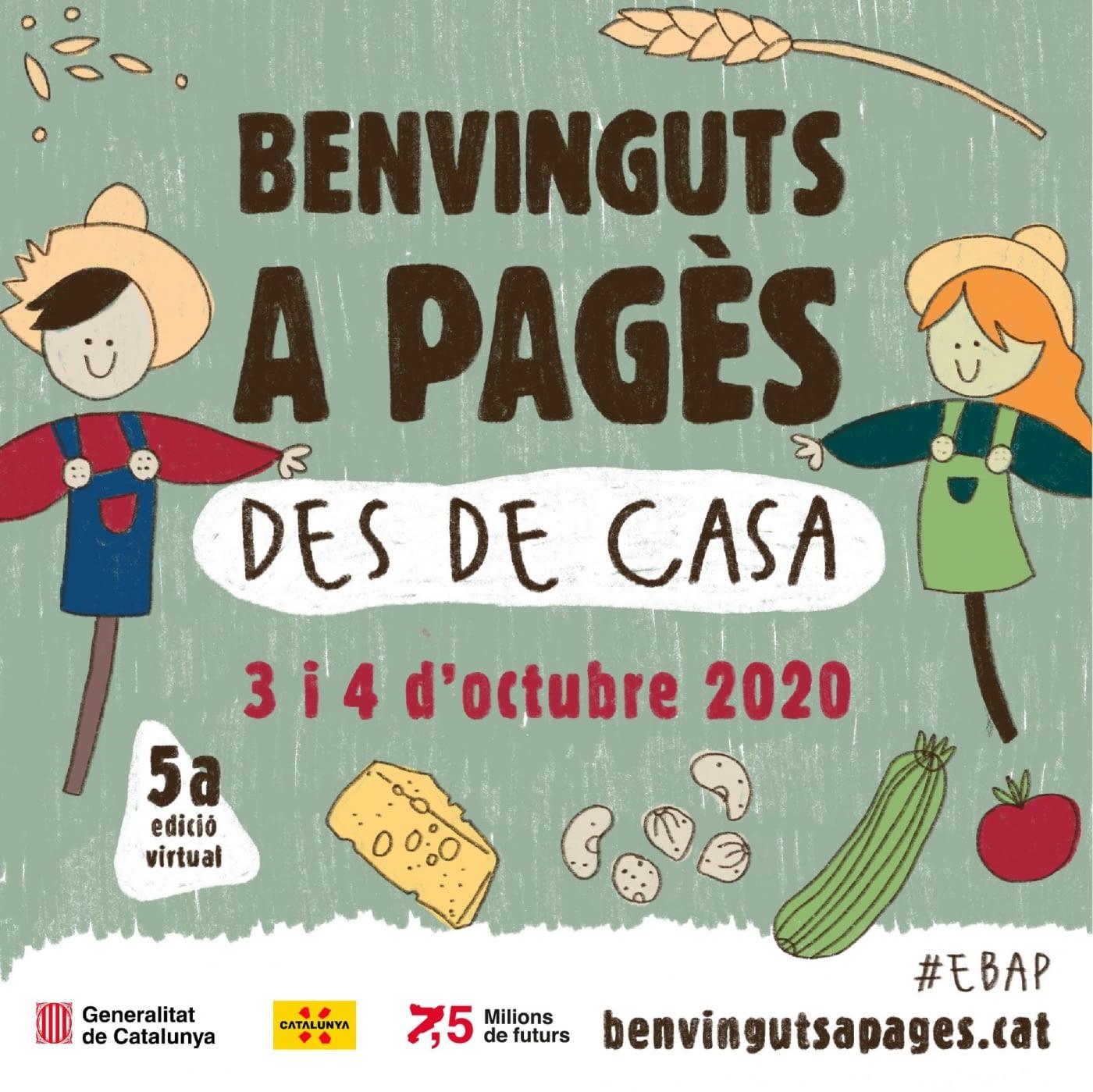 3 i 4 d'octubre, Benvinguts a Pagès des de casa