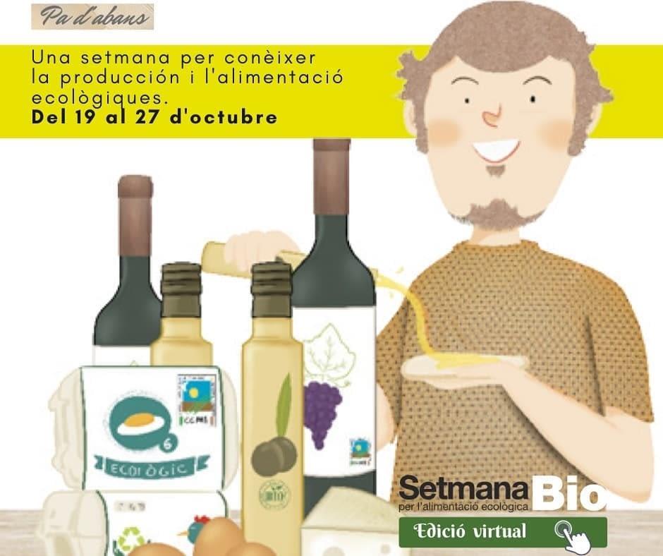 Fins el 27 d'octubre, Setmana Bio per l'alimentació ecològica
