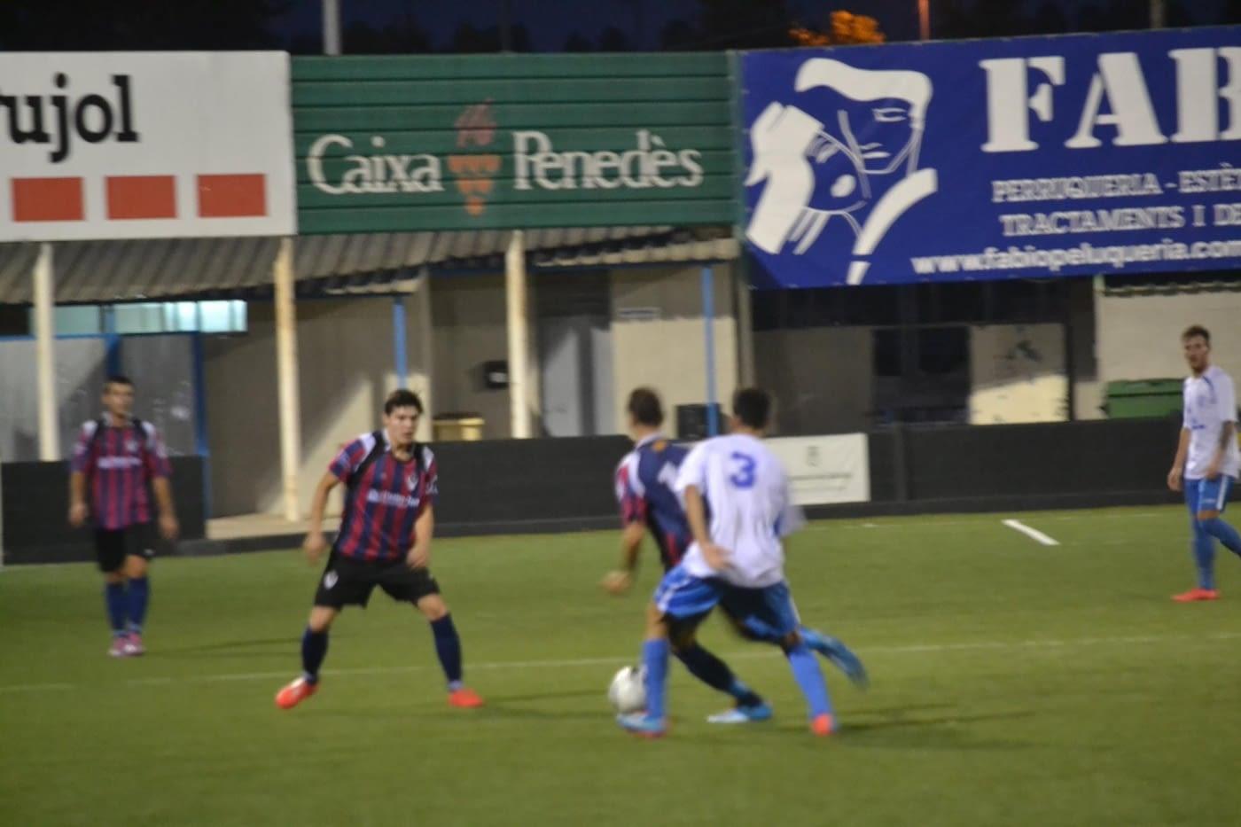 La UE Tàrrega guanya per 2-1 la tornada de la Copa Lleida