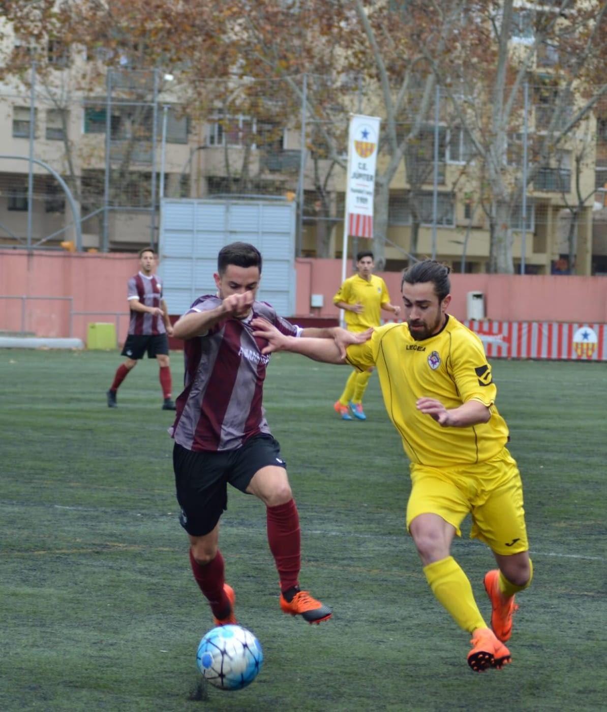 Crònica - Jornada 15 Primera Catalana: C.E Jupiter 2-1 U.E.Tàrrega